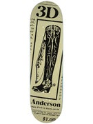 3D Anderson Boot Knife Deck 8.625 x 33