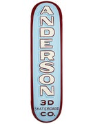 3D Anderson Forrest Wozniak Sign Deck 8.25 x 32