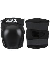 187 Pro Knee Pad Black/Black