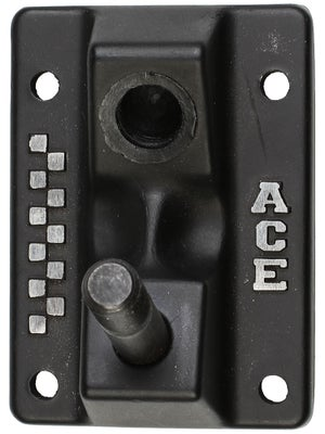 Ace Magnesium Low Baseplate  Black
