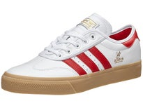 Adidas Adi-Ease Universal Shoes White/Scarlet/Gold