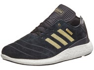 Adidas Busenitz Boost 10 Year Shoes Black/Gold/White