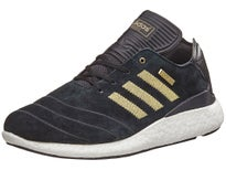 Adidas Busenitz Boost 10 Year Shoes Black/Gold White