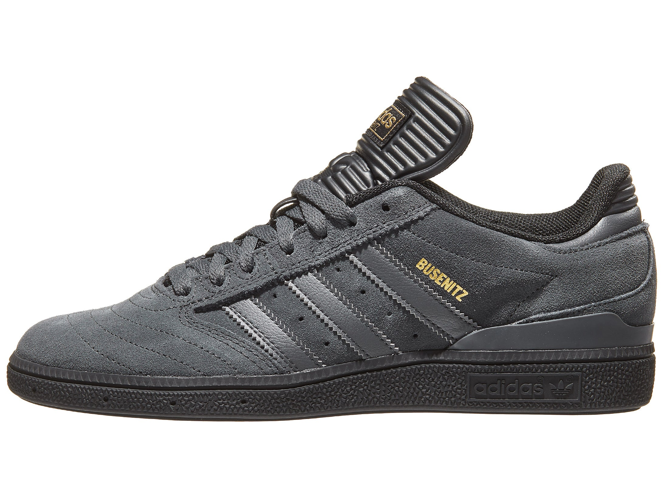 Adidas Busenitz Pro Shoes Grey Black Gold