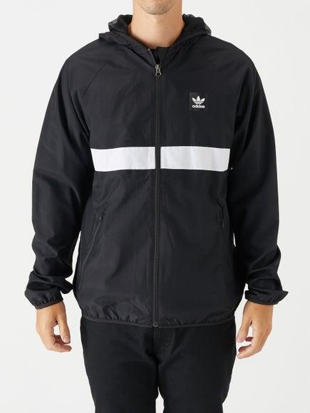 9121fa2685e2 Adidas Blackbird Packable Wind Jacket Black White
