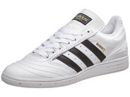 Adidas Busenitz Pro Shoes White/Black/Gold