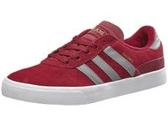 Adidas Busenitz Vulc Shoes Burgundy/Grey/White