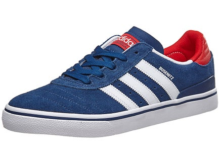 Adidas Busenitz Vulc ADV Shoes Blue/White/Scarlet
