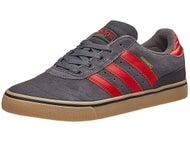 Adidas Busenitz Vulc ADV Shoes Grey/Scarlet/Gum