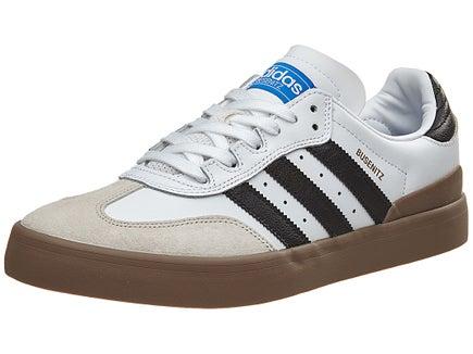 Adidas Busenitz Vulc Samba Edt. Shoes White/Black/Blue