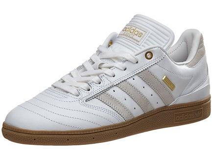 Adidas Busenitz Pro 10 Year Shoes White/White/Gold