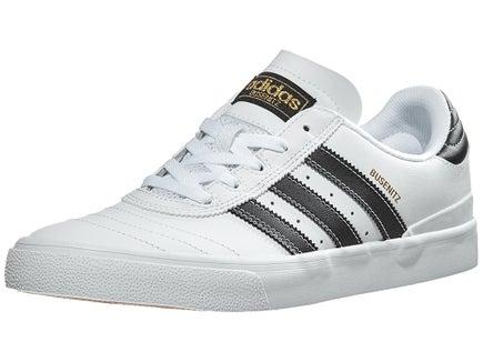 Adidas Busenitz Vulc Shoes WhiteBlackGold