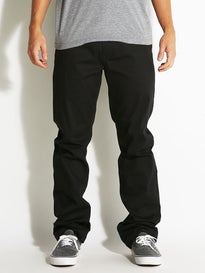 Altamont Davis Straight Chino Pants Black