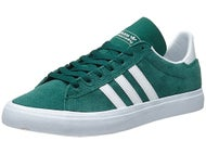 Adidas Campus Vulc II ADV Shoes Green/White/White