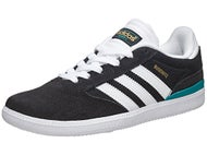 Adidas Kids Busenitz Shoes Black/White/Green
