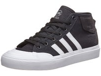 Adidas Kids Matchcourt Mid Shoes Black/White/White
