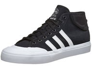 Adidas Matchcourt Mid Canvas Shoes Black/White/White