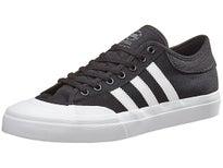 Adidas Matchcourt Canvas Shoes Black/White/Black
