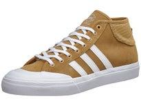 Adidas Matchcourt Mid ADV Shoes Mesa/White/White