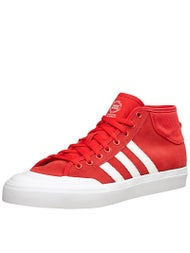 Adidas Matchcourt Mid Shoes Scarlet/White/White