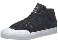 Adidas Matchcourt Mid Shoes Black/Black/White