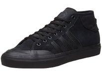 Adidas Matchcourt Mid ADV Shoes Black/Black/Black