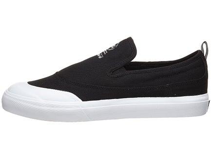 Adidas Matchcourt Slip ADV Shoes BlackBlackWhite