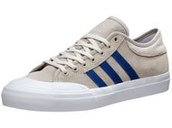 Adidas Matchcourt Shoes White/Blue/Mist Stone