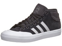 Adidas Matchcourt Mid ADV Shoes Black/Grey/White