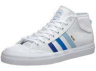 Adidas Nakel Matchcourt Mid ADV Shoes White/Royal/Blue