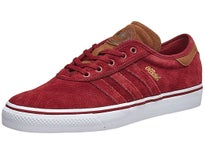 Adidas Official Adi-Ease Premiere Shoes Burgundy/White