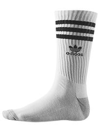 Adidas Roller Crew Socks White/Black