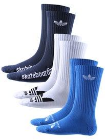 Adidas Skateboarding Crew Socks 3 Pack