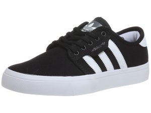 Adidas Kids Seeley Shoes Black/White/Black