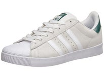 Adidas Superstar Vulc ADV Shoes White/White/Green