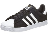 Adidas Superstar Vulc ADV Shoes Black/White/Gold