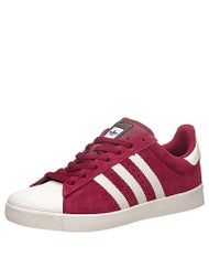Adidas Superstar Vulc ADV Shoes Burgundy/Chalk/Burgundy