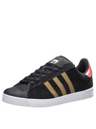 Adidas Superstar Vulc ADV Shoes Black/Gold/Red