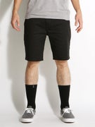 Altamont Davis Slim Chino Shorts Black/Grey