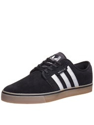 Adidas Seeley Shoes  Black/White/Gum