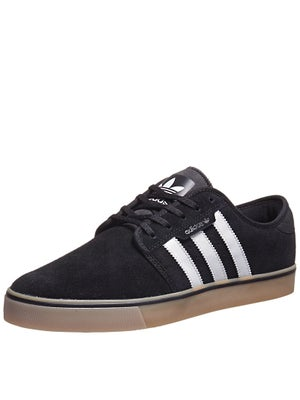 Adidas Seeley Shoes  Black/White/Gum