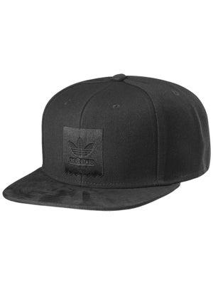 Adidas Thrasher Snapback Hat Black/Black