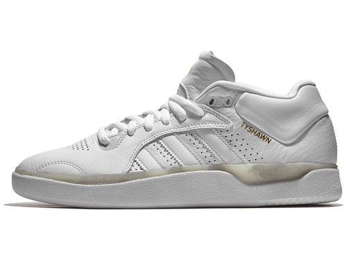 Reunión pañuelo tensión  Adidas Tyshawn Shoes White/White/White - Skate Warehouse