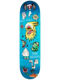 Anti Hero Anderson Grape Dope Deck 8.5 x 32.25