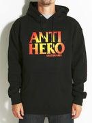 Anti Hero Black Hero Sunburst Hoodie