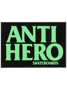 Anti Hero Blackhero Sticker MD Black/Green