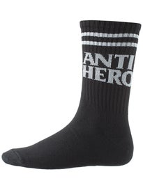 Anti Hero Black Hero If Found Crew Socks