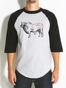 Anti Hero Cow 3/4 Raglan T-Shirt