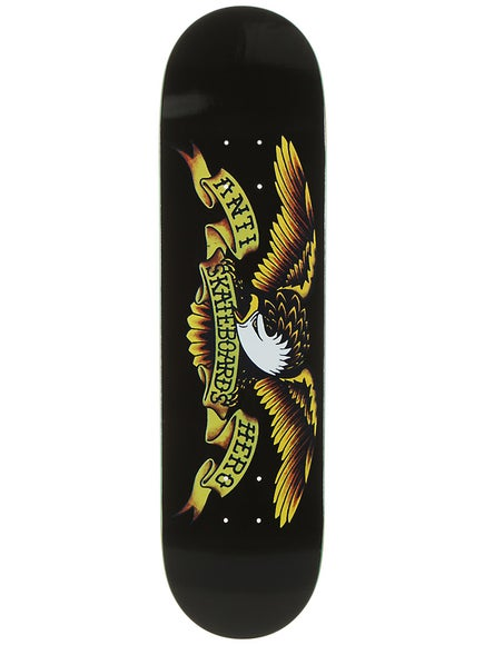 Anti Hero Classic Eagle LG Black Deck  8.125 x 32