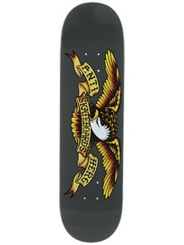 Anti Hero Classic Eagle Larger Grey Deck  8.25 x 32